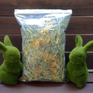 Hay and Dried Herbs Flowers for Rabbits & Guinea Pigs
