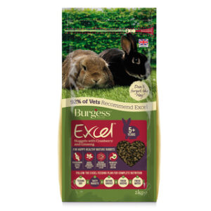 Rabbit food pellets